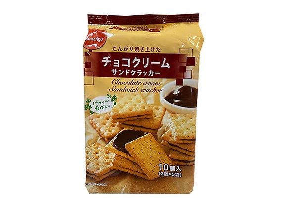 Munchy's チョコクリームサンドクラッカー 10個入×1袋