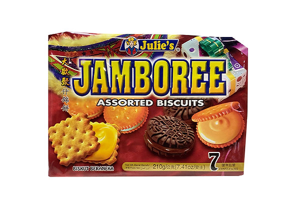 Julie's ジャンボリーアソートビスケット×1袋