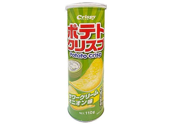 ポテトクリスプ サワーオニオンクリーム味 110gx1個