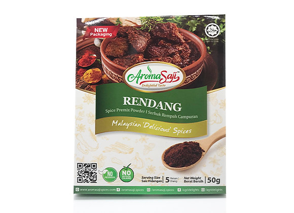 Rendang Spice Premix Powder 50g