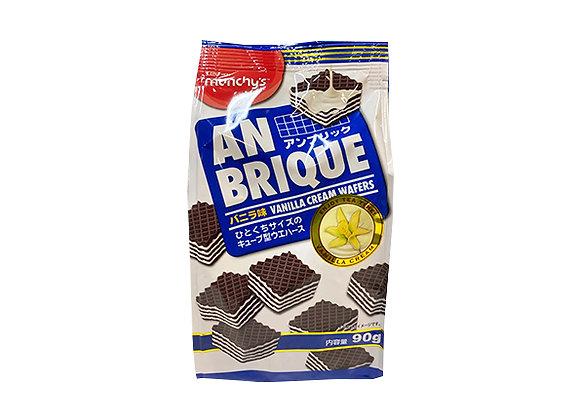 Munchy's An Brique Vanilla Cream Wafers 90g