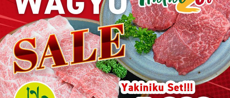 【お買得】焼肉セット(なかにし和牛モモ焼肉用 300g, なかにし和牛バラ焼肉用 300g)