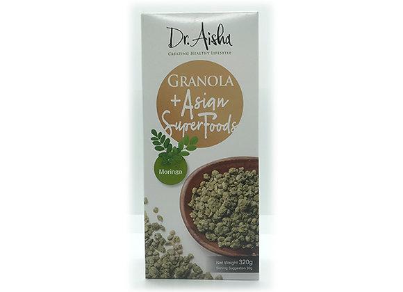 Dr. Aisha Granola + Asian Super Foods Moringa 320g