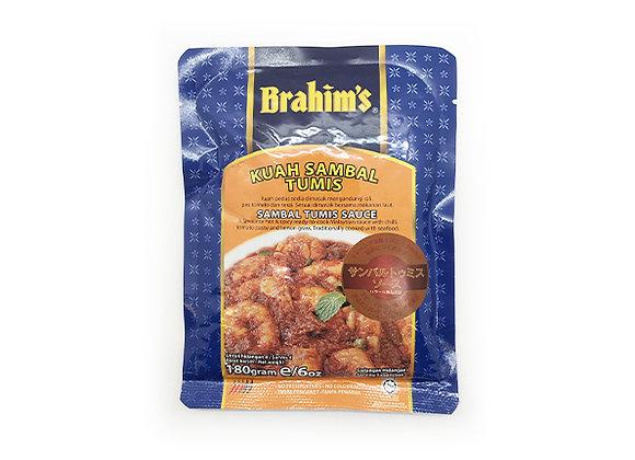 Brahim's Sambal Tumis Sauce 180g × 1