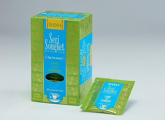 BOH TEA ライム・ジンジャー(ティーバッグ)20袋×1箱