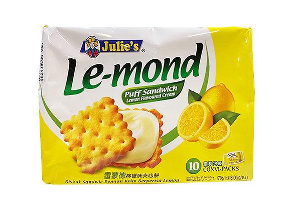 Julie's ル・モンド レモンクリームサンド×1袋