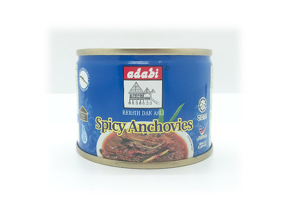 Adabi Spicy Anchovies 160g