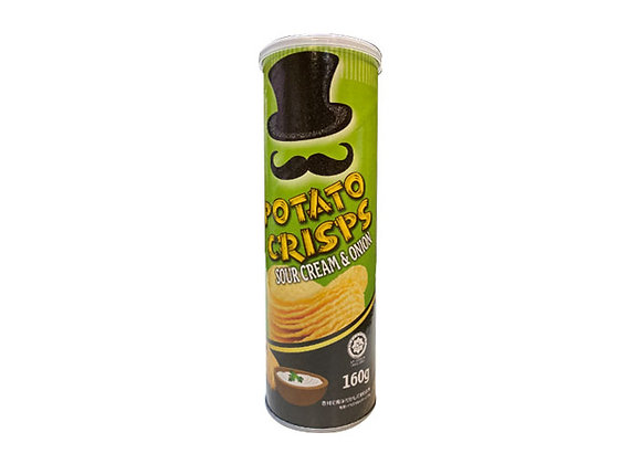 Potato Crisps (Sour Cream & Onion) 160g