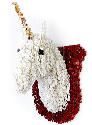 Mounted Unicorn Head (2013)