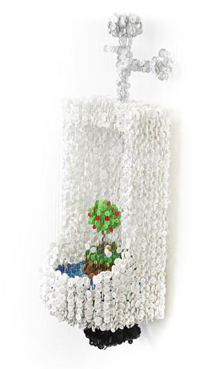 Urinal With Apple Tree (2015)
