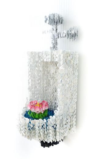 Urinal With Lotus Flower (2015)