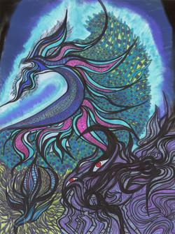 Transcendent Peacock