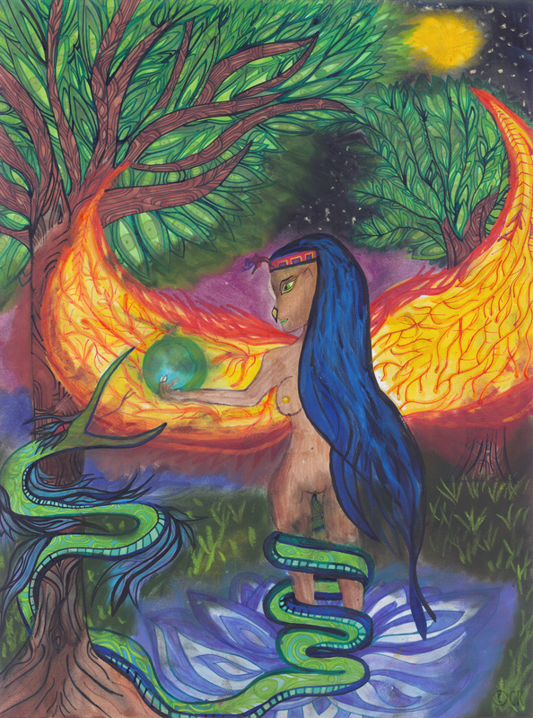Virgo, Priestess of Initiation