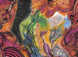 Vishnu and Padmā Dreaming the Dream