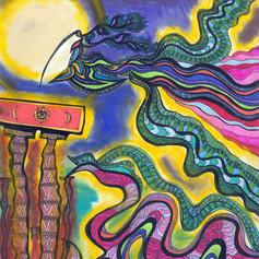 Quetzalcoatl over Sumeria