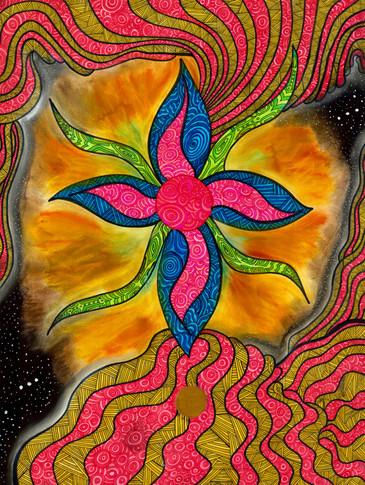 Peace Flower of Jupiter