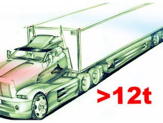 Плата за проезд транспорта массой более 12 тонн