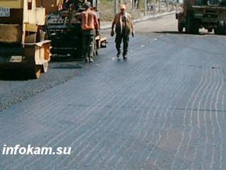 В окрестностях Камышина ударными темпами идет  ремонт федеральной трассы Волгоград - Саратов - Сызра