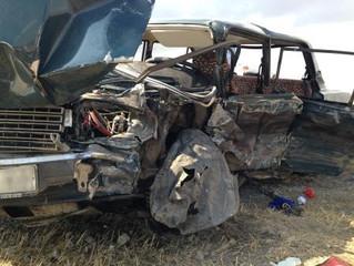 В результате ДТП в Камышинском районе один человек погиб, семеро пострадали