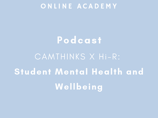 Podcast:  Mental Health & Wellbeing As a Student