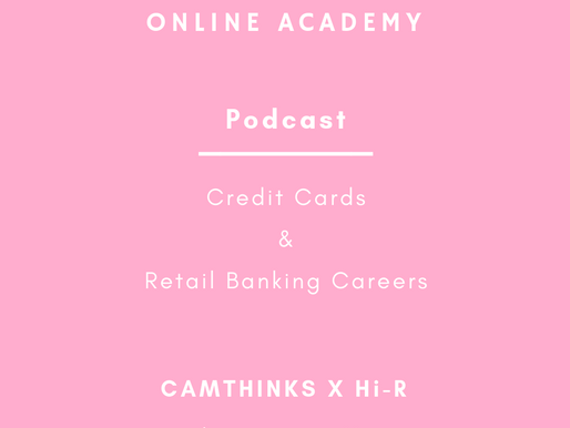 Podcast: Credit Cards & Retail Banking Careers