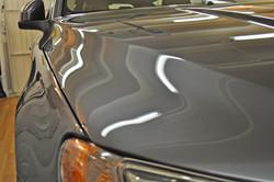 Scherpe reflecties in de wax