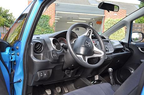 Honda Jazz interieur na behandeling met