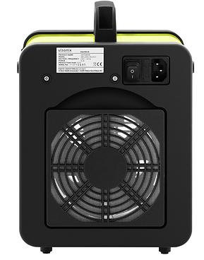 Ozongenerator achterkant met ventilator.