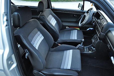 VW Golf 3 interieur schoon na reiniging.