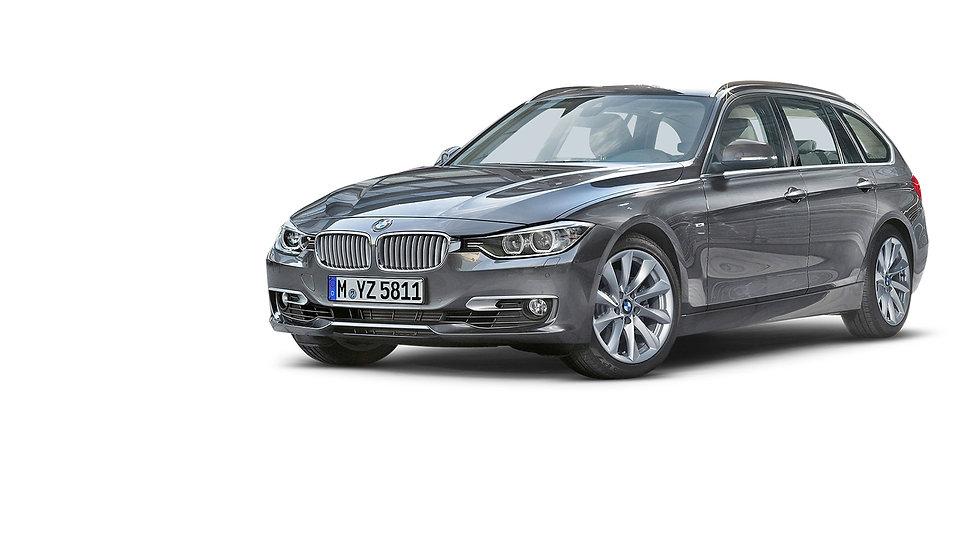 BMW-3-series-Touring-zilvergrijs-voor-en