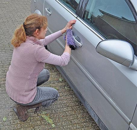 Auto-beter-wassen-Marjolein-wast-Opel-Ve