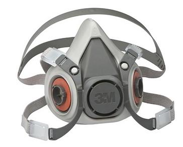 Halfgelaatmasker met filters voor aanbre