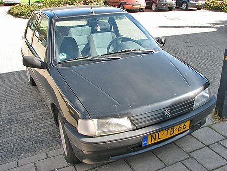 Peugeot-voor het polijsten doffe en matt