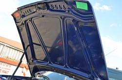 Motorkap van de 205 ook weer schoon