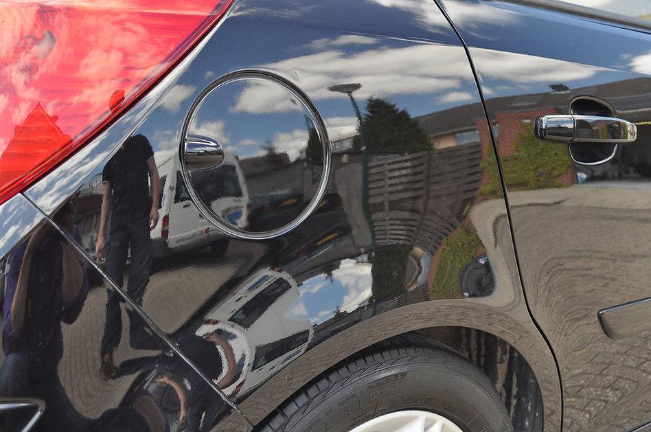 Achterspatbord Opel Corsa na twintig min