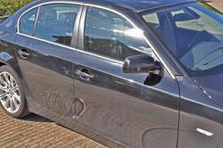 BMW 5 serie voor het polijsten