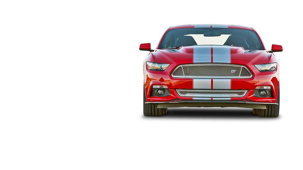 Ford Mustang Shelby GT recht van voren r