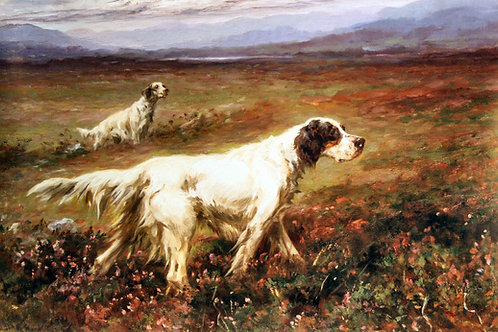 """Setters on the Moor"" by Maud Earl"