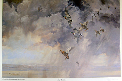 """""""First Arrivals"""" by Alan Hayman"""
