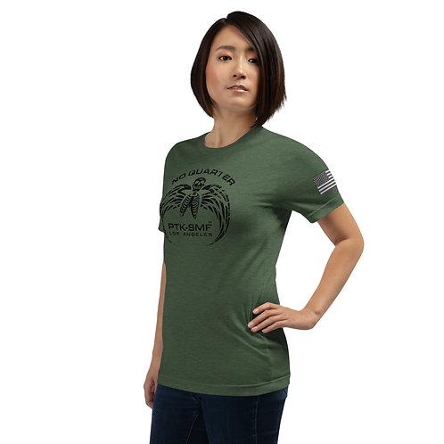 PTKSMFLA NO QUARTER BLACKOUT Short-Sleeve Unisex T-Shirt