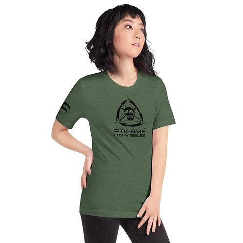 PTKSMFLA PTK SYSTEM/BLACKOUT Short-Sleeve Unisex T-Shirt