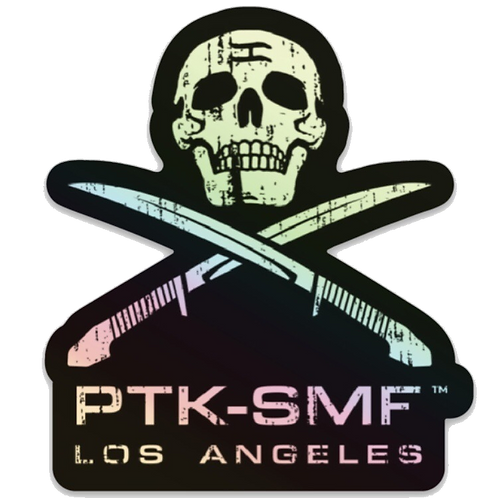 PTKSMFLA Raider Holographic Sticker 3""