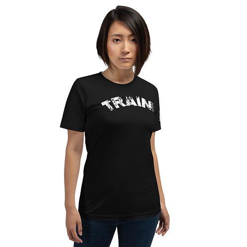 PTKSMFLA TRAIN (DISTRESS) Short-Sleeve Unisex T-Shirt