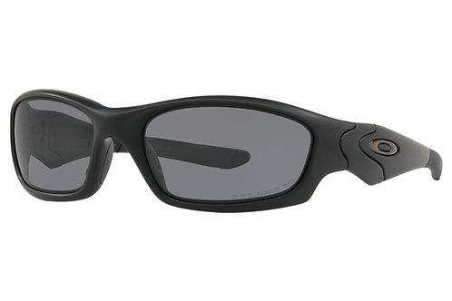 Oakley SI Straight Jacket / Matte Black Frame and Grey Polarized Lenses