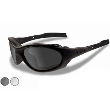 Wiley X XL-1 Advanced Sunglasses Black Frame Gray/Clear Lens