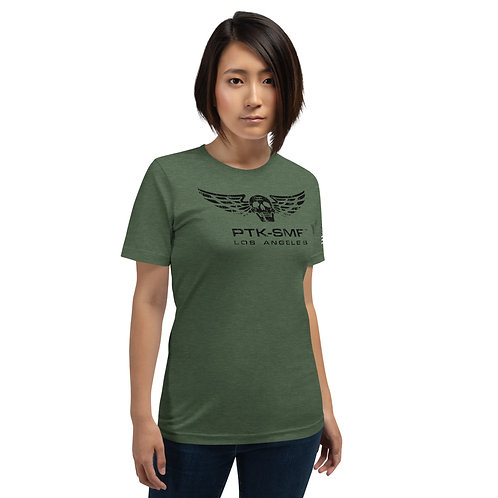 PTKSMFLA TEAM DARK (DISTRESS) Short-Sleeve Unisex T-Shirt
