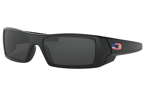 Oakley SI Gascan Flag Collection USA / Matte Black Frame with Grey Lenses
