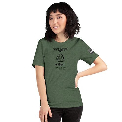 PTKSMFLA M4/BLACKOUT Short-Sleeve Unisex T-Shirt