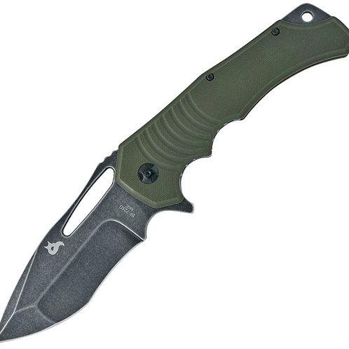 Black Fox  Hugin Linerlock / Green