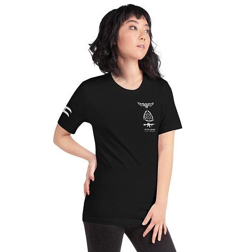 PTKSMFLA M4/TEAM (DISTRESS) Short-Sleeve Unisex T-Shirt